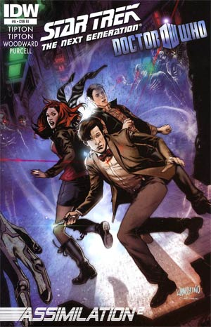Star Trek The Next Generation Doctor Who Assimilation2 #6 Incentive Emanuela Lupacchino Variant Cover