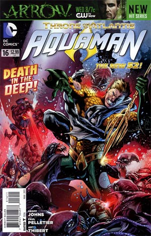 Aquaman Vol 5 #16 Regular Eddy Barrows Cover (Throne Of Atlantis Part 4)