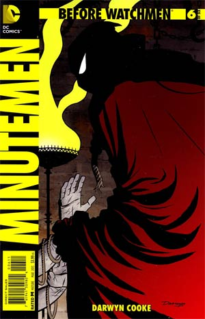 Before Watchmen Minutemen #6 Regular Darwyn Cooke Cover