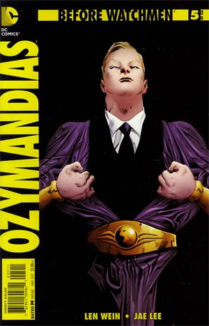Before Watchmen Ozymandias #5 Regular Jae Lee Cover