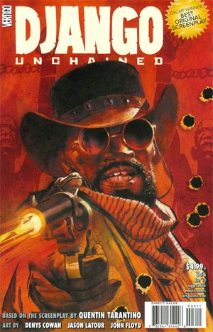 Django Unchained #3 Regular Massimo Carnevale Cover