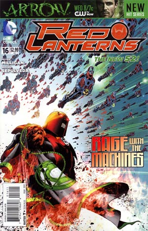 Red Lanterns #16 Regular Miguel Sepulveda Cover (Rise Of The Third Army Tie-In)