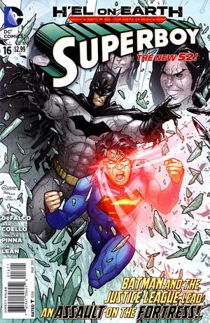 Superboy Vol 5 #16 (Hel On Earth Tie-In)