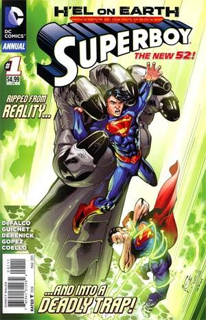 Superboy Vol 5 Annual #1 (Hel On Earth Tie-In)