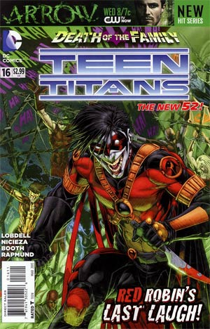 Teen Titans Vol 4 #16 Regular Brett Booth Cover (Death Of The Family Tie-In)