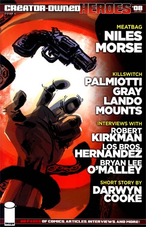 Creator-Owned Heroes #8 Cover A Scott Morse