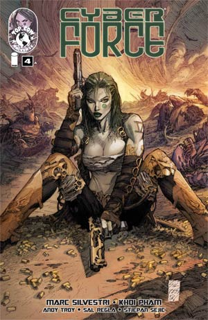 Cyberforce Vol 4 #4 Cover A Regular Marc Silvestri Cover