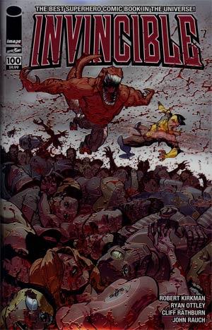 Invincible #100 Cover I Chromium Edition