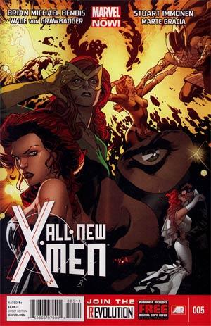 All-New X-Men #5 1st Ptg Regular Stuart Immonen Cover
