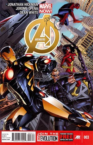 Avengers Vol 5 #3 1st Ptg Regular Dustin Weaver Cover