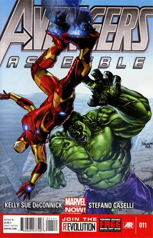Avengers Assemble #11 Regular Mico Suayan Cover