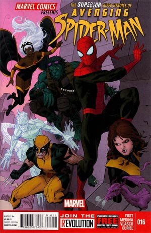 Avenging Spider-Man #16 Cover A 1st Ptg