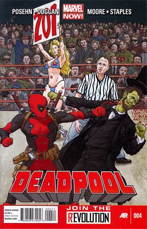 Deadpool Vol 4 #4 1st Ptg Regular Geof Darrow Cover