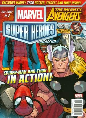 Marvel Super-Heroes Magazine #7