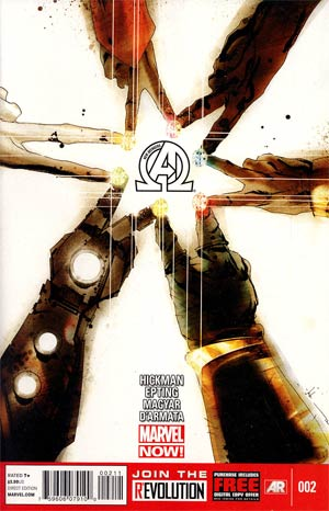 New Avengers Vol 3 #2 1st Ptg Regular Jock Cover