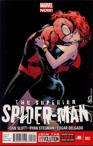 Superior Spider-Man #2 1st Ptg Regular Ryan Stegman Cover