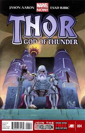 Thor God Of Thunder #4 1st Ptg Regular Esad Ribic Cover