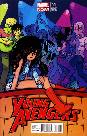 Young Avengers Vol 2 #1 Cover D Variant Bryan Lee O Malley Cover