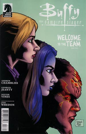 Buffy The Vampire Slayer Season 9 #17 Variant Georges Jeanty Cover