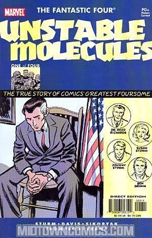 Fantastic Four Unstable Molecules #1