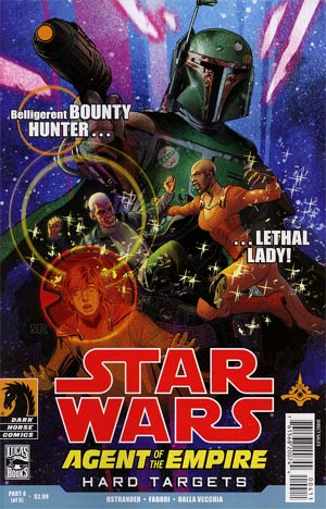 Star Wars Agent Of The Empire Hard Targets #4
