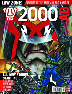 2000 AD #1813 - 1817 January 2013 Pack