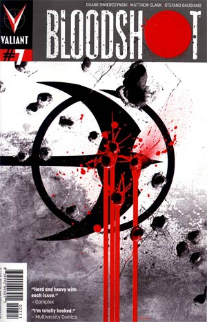 Bloodshot Vol 3 #7 Regular Kalman Andrasofszky Cover