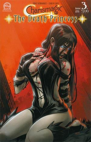 Charismagic Death Princess #3 Cover B Regular Emilio Lopez Cover