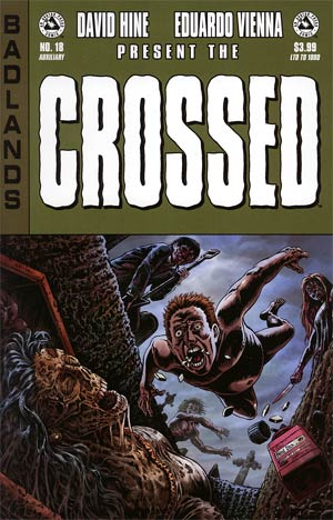 Crossed Badlands #18 Auxiliary Edition
