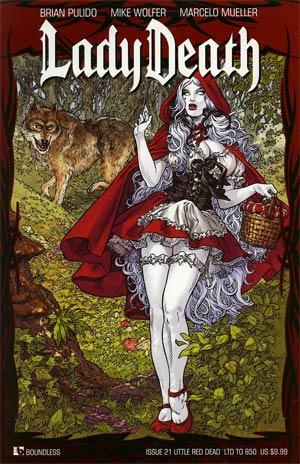 Lady Death Vol 3 #21 Little Red Dead Cvr