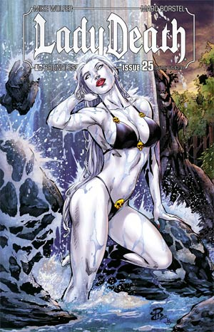 Lady Death Vol 3 #25 Sultry Cover