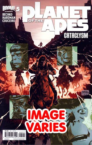 Planet Of The Apes Cataclysm #5 Regular Cover (Filled Randomly With 1 Of 2 Covers)