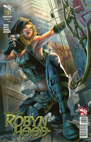 Grimm Fairy Tales Presents Robyn Hood #5 Cover A Pasquale Qualano