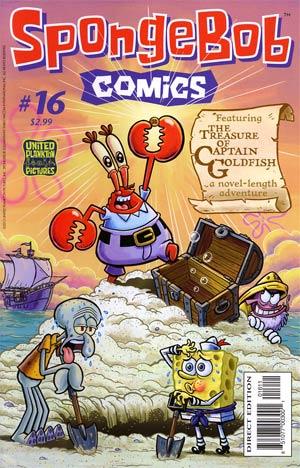 SpongeBob Comics #16