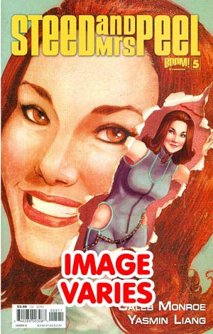 DO NOT USE Steed And Mrs Peel Vol 2 #5 Regular Cover (Filled Randomly With 1 Of 2 Covers)