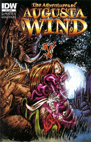 Adventures Of Augusta Wind #3 Regular Vasillis Gogtzilas Cover