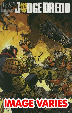 DO NOT USE (DUP) Judge Dredd Vol 4 #3 Regular Cover (Filled Randomly With 1 Of 2 Covers)