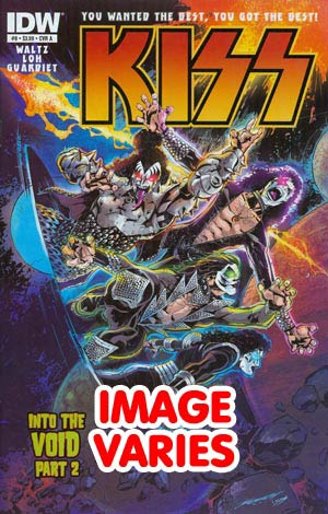 DO NOT USE KISS Vol 2 #8 Regular Cover (Filled Randomly With 1 Of 2 Covers)