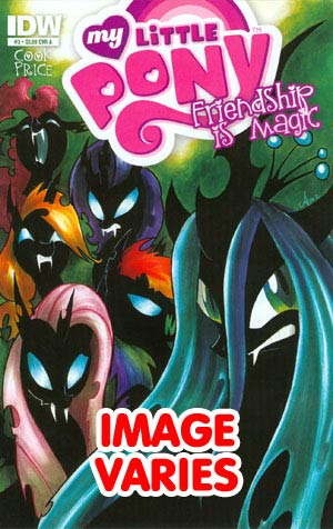DO NOT USE (DUPLICATE LISTING) My Little Pony Friendship Is Magic #3 Regular Cover (Filled Randomly With 1 Of 2 Covers)