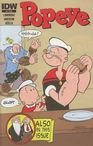Popeye Vol 3 #9 Regular Ken Wheaton Cover