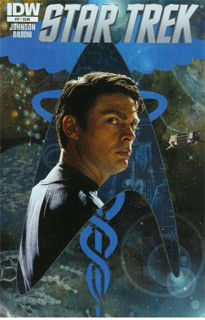 Star Trek (IDW) #17 Regular Tim Bradstreet Cover