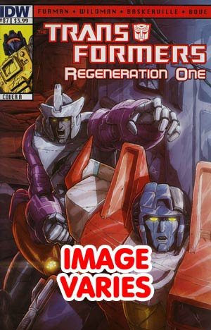 DO NOT USE (DUPLICATE LISTING) Transformers Regeneration One #87 Regular Cover (Filled Randomly With 1 Of 2 Covers)