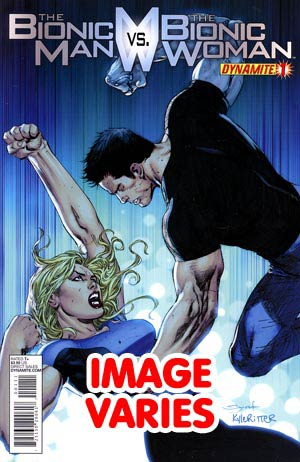 Bionic Man vs Bionic Woman #1 Regular Cover (Filled Randomly With 1 Of 4 Covers)