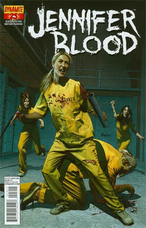 Garth Ennis Jennifer Blood #23 Regular Mike Mayhew Cover