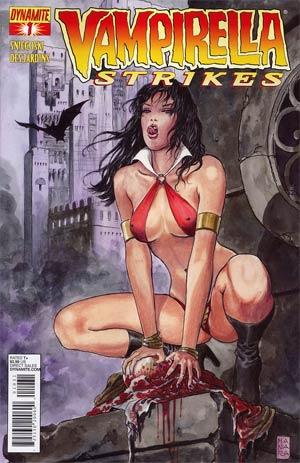 Vampirella Strikes Vol 2 #1 Regular Cover C Milo Manara