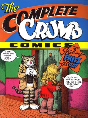 Complete Crumb Comics Vol 3 Starring Fritz The Cat TP