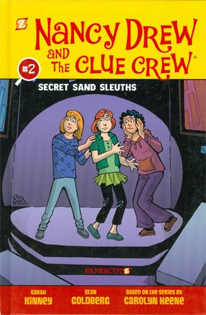 Nancy Drew And The Clue Crew Vol 2 Secret Sand Sleuths HC