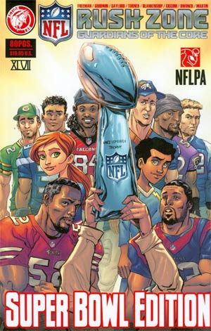 NFL Rush Zone Guardians Of The Core Vol 1 Super Bowl Edition TP