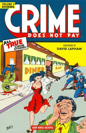 Crime Does Not Pay Archives Vol 4 HC