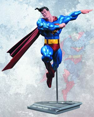 All-New Metallic Superman By Frank Miller Statue